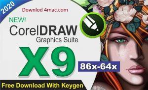 Corel Draw X9 Crack plus Keygen Full Download 2020 [Latest]