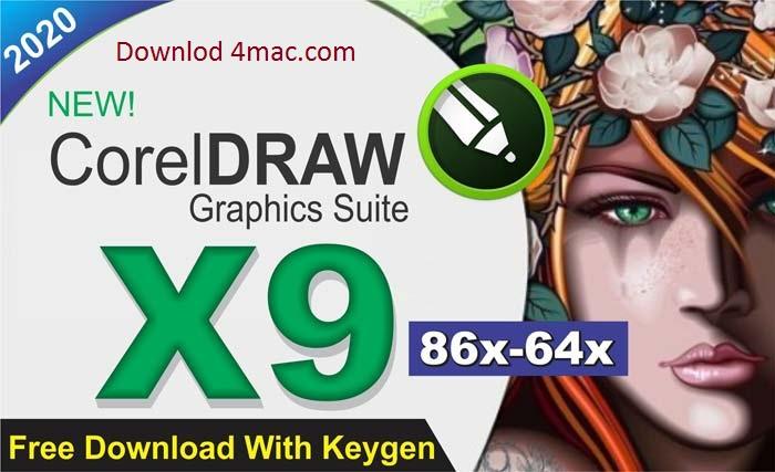 Corel Draw X9 Crack & Keygen Full Download 2020 [Latest]