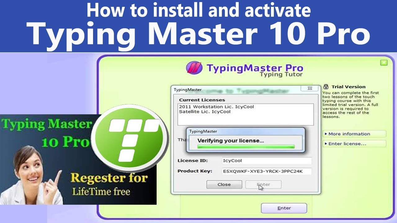 Typing Master Pro 10 Crack + Serial Key 2020 [Latest Version]